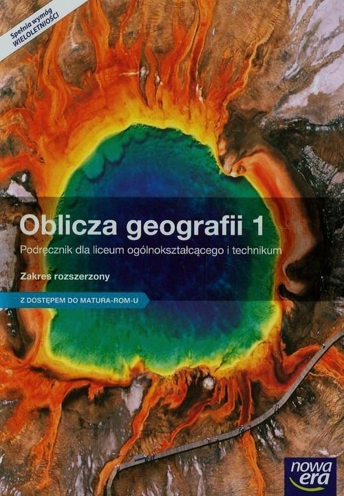 Oblicza geografii 1 Podręcznik Zakres rozszerzony z dostępem do Matura-ROM-u (Uszkodzona okładka) Malarz Roman, Więckowski Marek