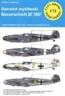 Samolot myśliwski Messerschmitt Bf 109 F Typy Broni i Uzbrojenia nr 174 Kowalski Tomasz J.