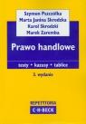Prawo handlowe testy - kazusy - tablice Pszczółka Szymon, Skrodzka Marta Janina, Skrodzki Karol, Zaremba Marek