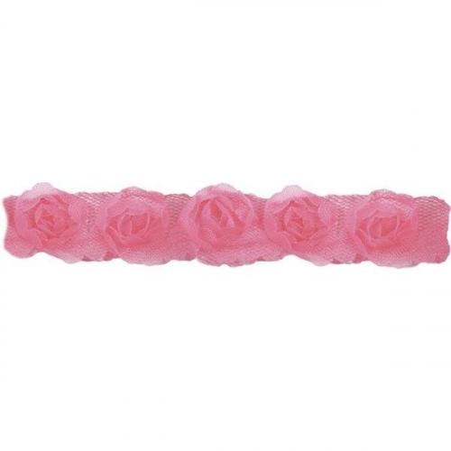 Dekoracja materiałowa - różowy (373293)