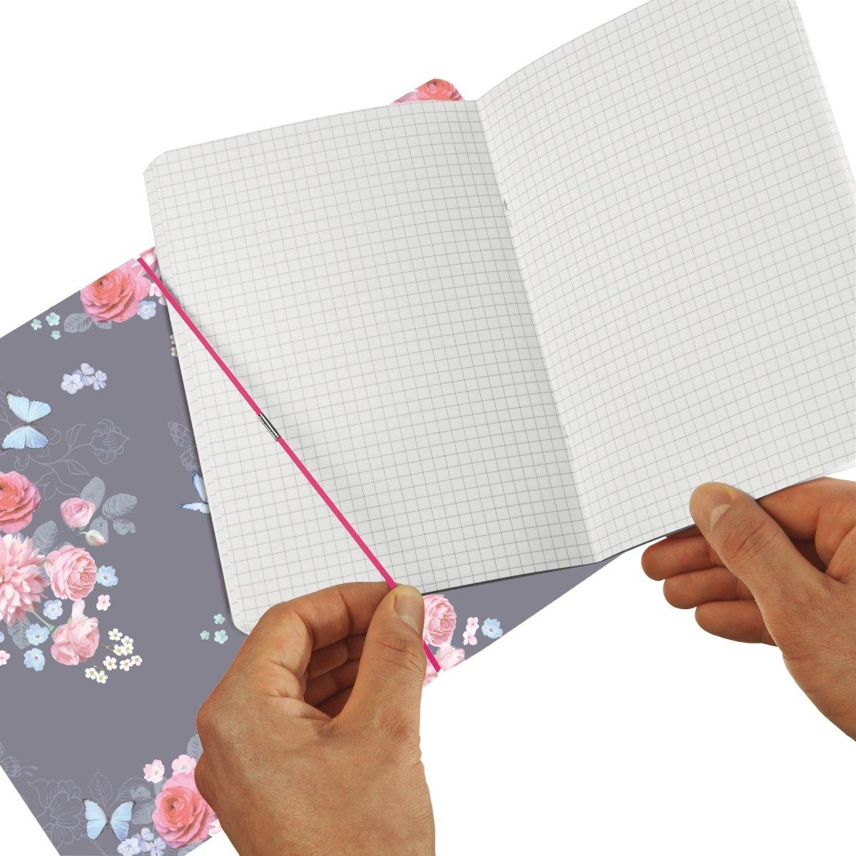 Notatnik A6/40k kratka My.Book Flex - Ladylike Flowers