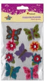 Naklejki do dekoracji motyle/kwiaty R14