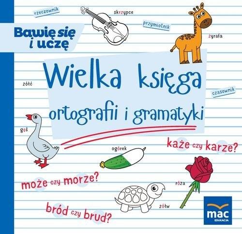 Wielka księga ortografii i gramatyki Andrasik Urszula, Markowska Elżbieta, Szurowska Beata