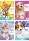 Wkład do segregatora A6/ 8k The Sweet Pets z kolorowankami i naklejkami