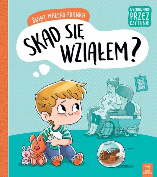 Świat małego Franka (Uszkodzona okładka) Giełczyńska-Jonik Agata