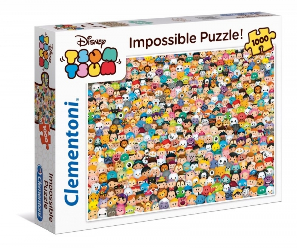 Puzzle High Quality Collection 1000 Impossible Tsum Tsum (39363)