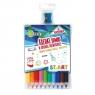 Kredki Jumbo ST.ART, 10 kolorów + temperówka