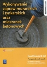 Wykonywanie zapraw murarskich i tynkarskich oraz mieszanek betonowych. Popek Mirosława