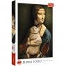 Trefl, Puzzle 1000: Dama z kotem (10663)
