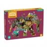 Mudpuppy, puzzle konturowe 300: Słoń - Afrykańskie safari (MP66633)