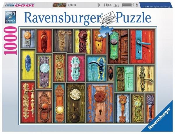 Puzzle 1000 elementów - Howard Brower - Antyczne klamki (198634)
