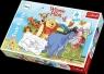 Puzzle Maxi konturowe Przygody Kubusia Puchatka 30 elementów (14163)