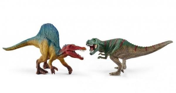 Zestaw Spinosaurus i T-Rex Mini - 41455