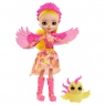 Enchantimals: Lalka Królewska Falon Phoenix i Zwierzątko Sunrise (FNH22/GYJ04)