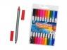 Pisaki dwustronne 10 kolorów