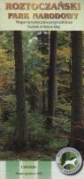 Roztoczański Park Narodowy Mapa turystyczno-przyrodnicza 1:50 000