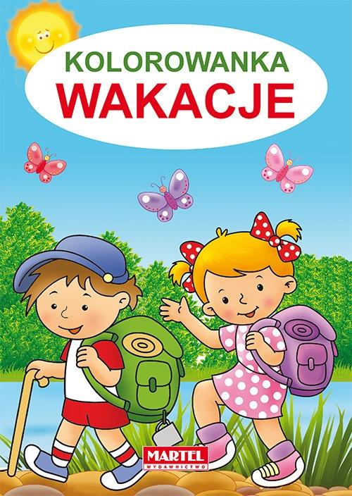 Kolorowanka Wakacje Żukowski Jarosław