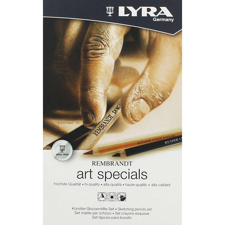 Ołówki Lyra Rembrandt Art Specials metal set - 12 szt.