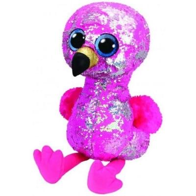 Beanie Boos Flippables Pinky - Cekinowy flaming
