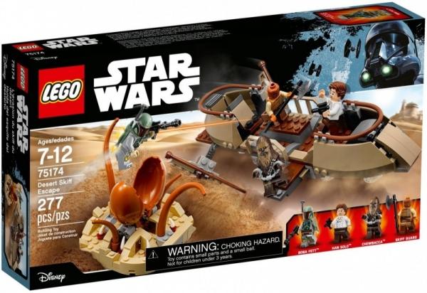 Star Wars Ucieczka na pustynnej barce (75174)