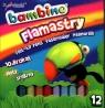 Flamastry brokatowe 12 kolorów Bambino