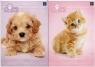 Zeszyt A5/16K kratka UV Puppy Sign (20szt)