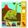 Szablony zwierzęta prehistoryczne (DJ08863)