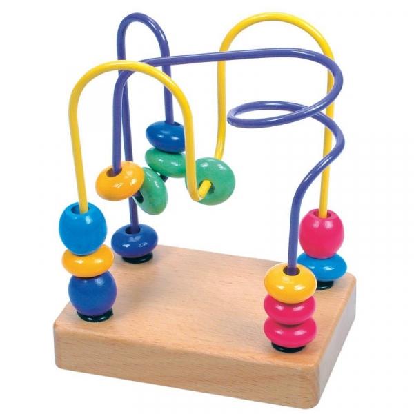 Edukacyjna zabawka koralikowa Labirynt (84163)
