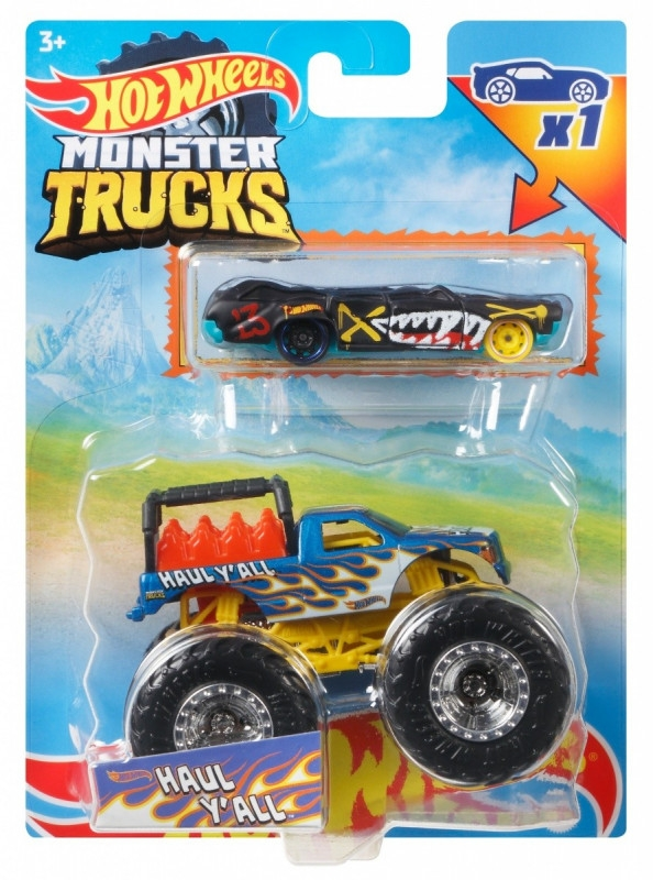 Pojazdy Monster Truck 2-pak Haul Y'all (GRH81/GYL99)