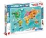 Puzzle SuperColor 250: Exploring Maps (29063)