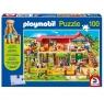 Puzzle 100: Playmobil Farma + figurka