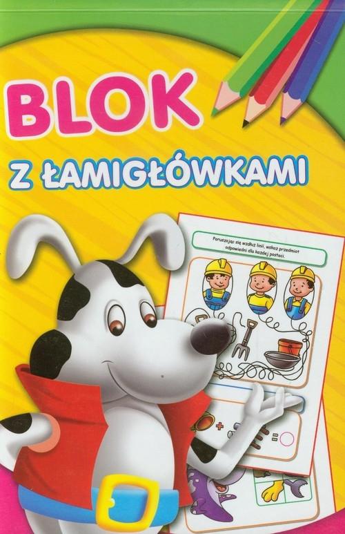 Blok z łamigłówkami Pies