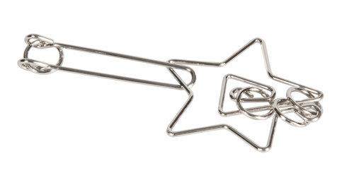 IQ-Test Puzzle Gwiazda, metal, pudełko