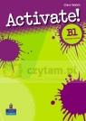 Activate B1 (PET) TB