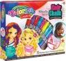 Colorino zestaw pasteli kredowych do włosów 10 sztuk (68635PTR)