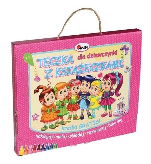Teczka dla dziewczynki z książeczkami praca zbiorowa