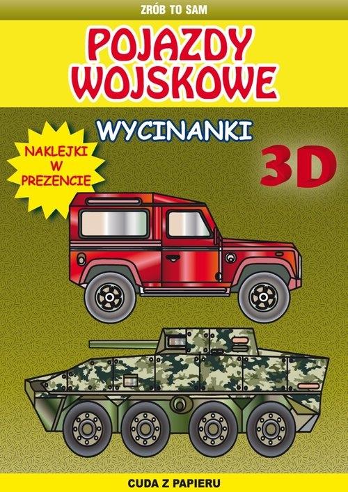 Pojazdy wojskowe wycinanki 3 D Tonder Krzysztof