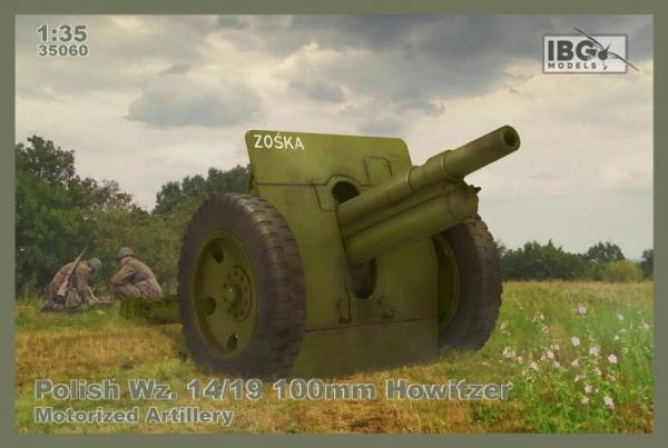 Model plastikowy Polish Wz.14/19 100 mm Howitzer-Motorized Ar (35060)