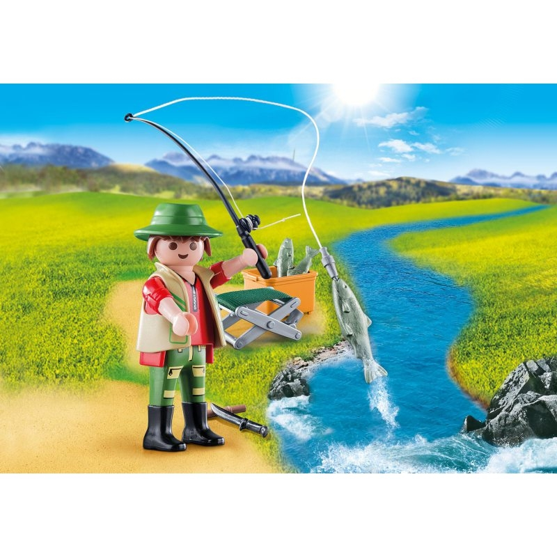 Playmobil Special Plus: Figurka Wędkarz (70063)