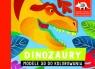 Dinozaury Modele 3D do kolorowania (Uszkodzona okładka)