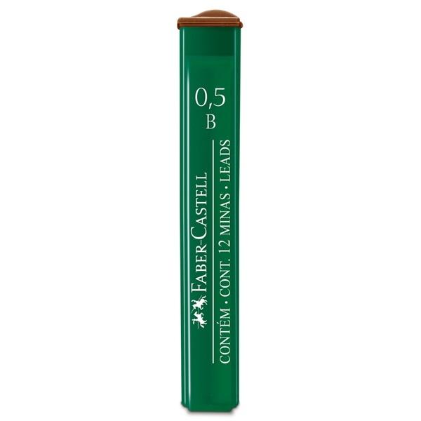 Wkład grafitowy 0,5mm B Faber-Castell (521501)