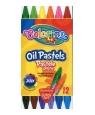 Trójkątne pastele olejne 12 kolorów (32636PTR)
