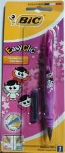 Pióro Easy Clic Geko blister(1szt) BIC
