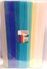 Bibuła marszczona 25x200cm mix niebieski 10 rolek