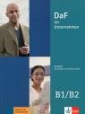 DaF im Unternehmen B1-B2 Kursbuch + Audios und Filmen online