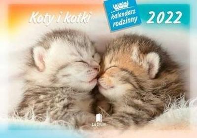 Kalendarz 2022 Rodzinny Koty i kotki WL9