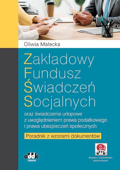 Zakładowy fundusz świadczeń socjalnych Małecka Oliwia