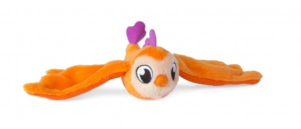 Bunnies Friends: Pluszowy ptaszek z magnesem - pomarańczowy (BUN 096943/097636)