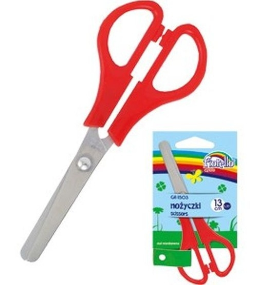 Nożyczki szkolne Fiorello zielone