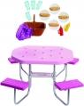 Barbie: Zestaw ogrodowy - stół piknikowy
